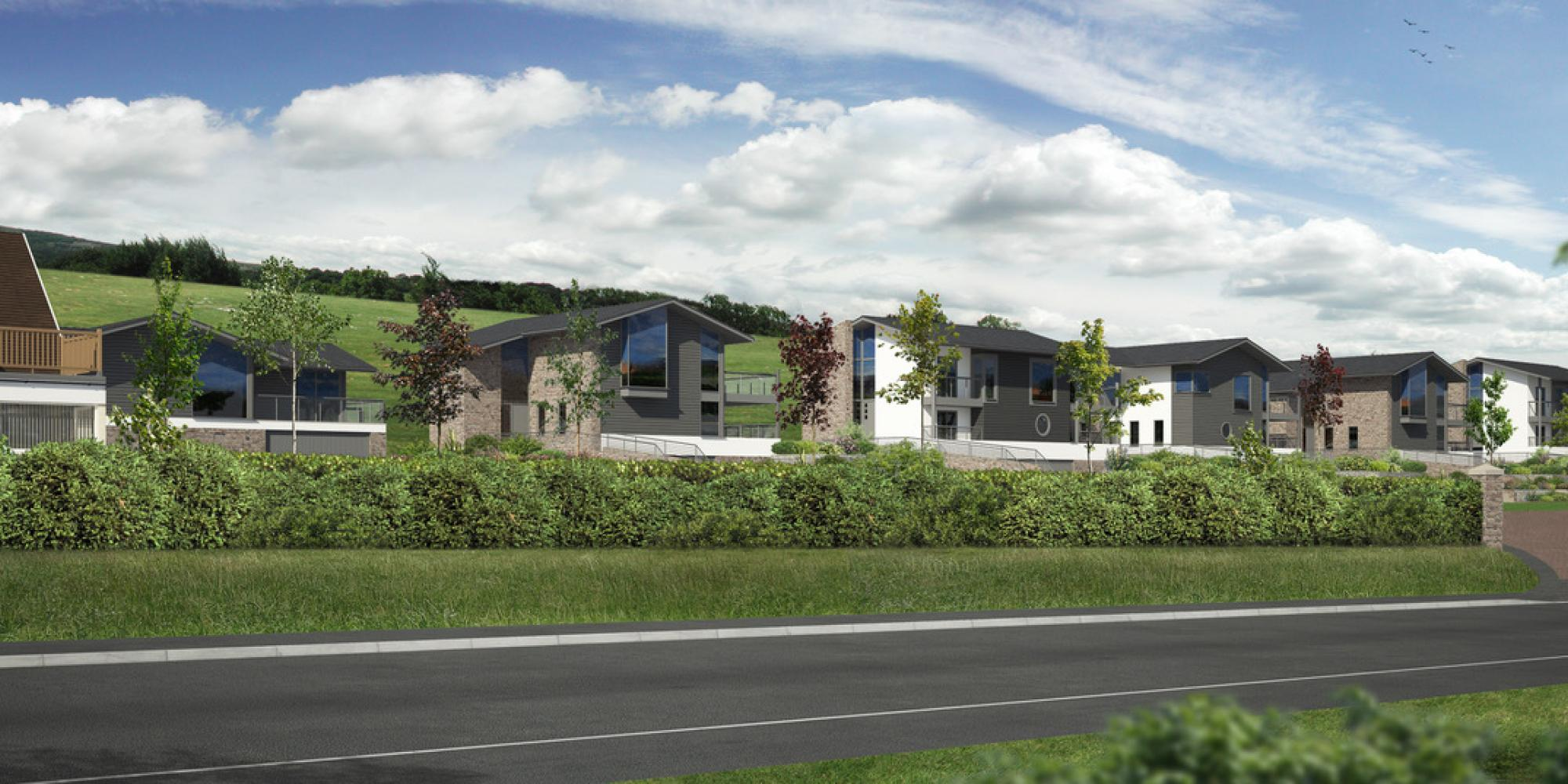 New Homes on Anstey Way, Instow, North Devon